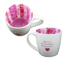 Best friends forever inside out mug dans boîte cadeau spécial tasses cadeaux son