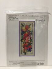 Glorious Fruit #252 Counted Cross Stitch Chart Pattern Donna Vermilion Giampa