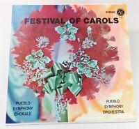 Pueblo Symphony Orchestra - Festival of Carols (John Law 701201 Stereo)