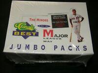 1991 CLASSIC BEST BASEBALL JUMBO PACKS BOX / FACTORY SEALED