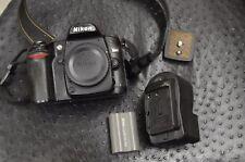 Nikon D80 Digital SLR Camera Body {10.2 M/P}, Two Batteries, Charger, Book