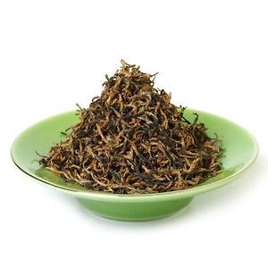 GOARTEA 100g/3.5oz Supreme Lapsang Souchong Black Tea Golden Buds No Smoky Taste