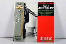 NAT ADDERLEY: WORK SONG ~ JAPAN MINI LP CD/ 20bit K2 HQ CD,ORIGINAL, RARE, OOP