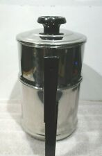 LIFETIME T304 STAINLESS STEEL COFFEE MAKER & LID 10 CUP