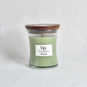 SALE - Wood Wick Candle -Apple Wood  9.7oz