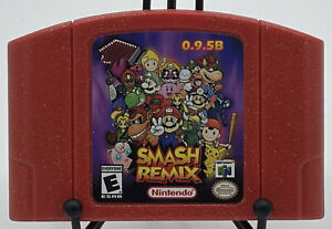 Smash Remix 0.9.5b with Mad Piano | Rare Nintendo 64 Cartridge | Patched