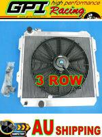 Radiator &fan fit TOYOTA HILUX LN85 LN60 LN61 LN65 2.4LTR DIESEL 84-91 MT