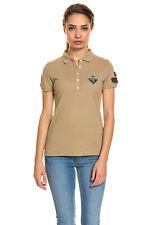 NAPAPIJRI Damen Tailliertes Polo Shirt Hemd Edelberga feinem Baumwoll Pique