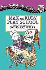 Max and Ruby Play School: A Picture Reader with 24 Flash Cards (All-ExLibrary