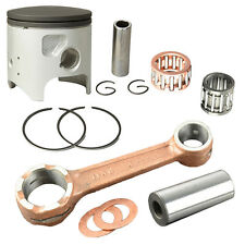 Piston Rings Connecting Rod Kit For Kawasaki KDX200 1995 - 2006 New Engine Parts