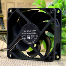 For Delta NUB0712H 12V 0.23A 70*70*25mm 3Pin Projector Cooling Fan