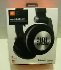 JBL Synchros E40BT Over the Head Wireless Headphones - Black