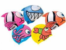 Zoggs Childrens Silicone Character Swimming Cap