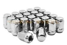 20pc Chrome Bulge Acorn Lug Nuts M12x1.5 Chrome Lug Nuts