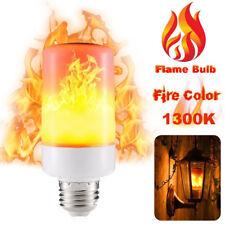 E27 LED Flicker Flame Fire Effect Light Bulb Burning Decorative Lamp 99 LEDs