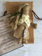 Cottage witch good luck new home blessing gift smudging feather charm wedding