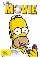 The Simpsons - The Movie DVD region 4 Like New