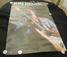 """VINTAGE used old Jimi Hendrix Poster 24""""X36"""""""