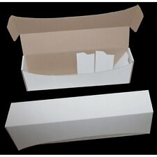 WHITE CARD STORAGE BOX - Holds upto 1000 Cards ideal for MTG POKEMON YUGIOH
