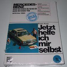 Reparaturanleitung Mercedes W 123 200 220 240 300 + TD Baujahr 1976 - 1984 NEU!