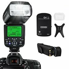 ESDDI PLF-650N 1/8000 Wireless Speedlight Flash GN58,Set for Nikon DSLR Camera,