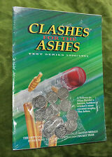 #T45. CRICKET CLASHES FOR ASHES 1990/91 MEDALS - SEALED