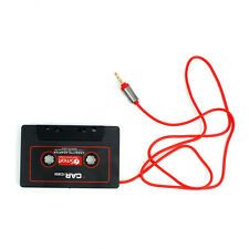 Car Audio Cassette 3.5mm Stereo Adapter Auxiliary for iPod Phone CD MP3/4 Player