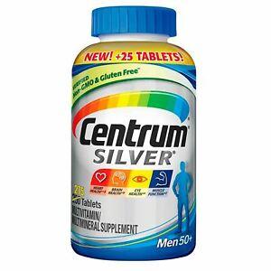 Centrum SILVER Men 50+, 275 Tablets - Multivitamin/Multimineral Supplement