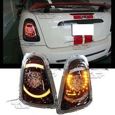REAR LED TAIL LIGHTS DARK-CRISTAL FOR MINI COOPER R56 R57 11-13 LAMP NEW