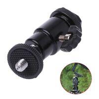 "Camera Accessory Tripod 1/ 4"" Male Screw Hot Shoe Adapter Ball Head With Lock"