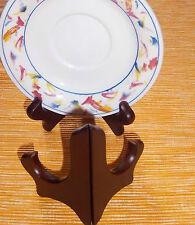 3 Holz Tellerständer Tellerhalter Telleraufsteller 20-28 cm