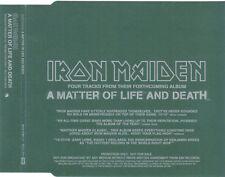 Iron Maiden, A Matter Of Life And death, NEW RARE UK promo album sampler CD