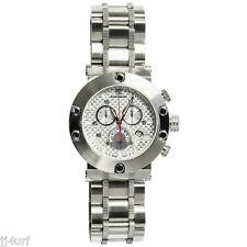 STEINHAUSEN SW578S Monte Carlo Swiss Chronograph Redux Watch, LTD ED, StSl, SIL