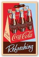 ADVERTISING POSTER Coca Cola Refreshing