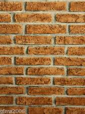 Red Brick Effect Wallpaper 06642-80