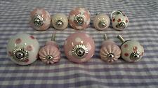 Möbelknäufe im 10er Set in Rosa M10-10