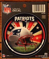 "New England Patriot 4.5"" NFL Licensed Decal Window Sticker Football Game League"