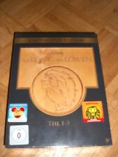 Der König der Löwen - Teil 1-3 (Holzbox) [Limited Edition] [3 DVDs] Walt Disney