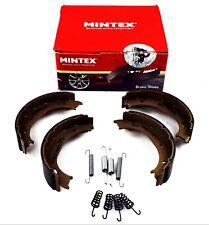 MINTEX REAR PARKING BRAKE SHOES MERCEDES BENZ VW MFR488 (REAL IMAGE OF PART)