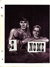 "Star Trek TOS Fanzine ""Nome 2""  SLASH"