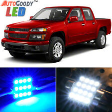 10 x Premium Blue LED Lights Interior Package for Chevy Colorado 2004-2012 +Tool