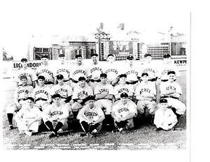 1937 TOLEDO OHIO MUD HENS 8X10 TEAM PHOTO  BASEBALL USA
