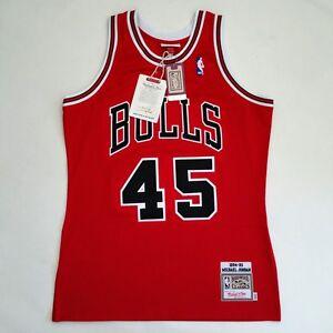 100% Authentic Michael Jordan Mitchell & Ness 94 95 Bulls NBA Jersey Size M 40