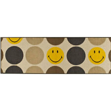waschbare Fußmatte Smiley Pop punkte 60 X 180 Cm Wash Dry