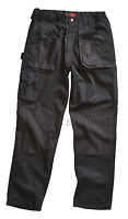 Blackrock Workman Mens Cargo Combat Work Wear Trousers Pants **WITH KNEE PADS**