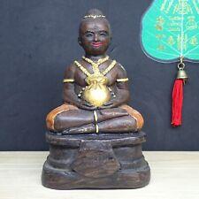 Kuman Thong Child Voodoo doll Ghost Statue Guman Thai Buddha Amulet Call Money