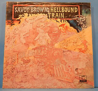 SAVOY BROWN HELLBOUND TRAIN VINYL LP 1972 ORIGINAL PRESS PLAYS GREAT VG/VG!!C