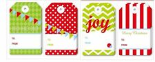 16pk ASSORTED XMAS CHRISTMAS LARGE GIFT TAGS LABELS BLANK TAG FREE POSTAGE