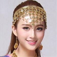 Women Headwear Belly Dance Accessories Costume Dancing Sequins Hair Band
