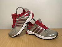 Adidas Duramo 5 Women's Pink Grey Running Trainers Size UK 5 EUR 38